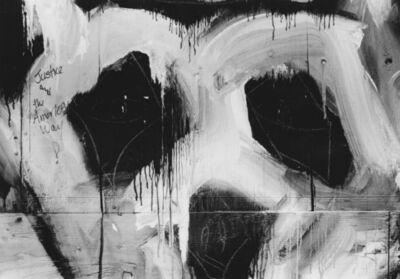 Arabella Colton, 'Wall Dog Face — Justice and the American Way, Fillmore & Lombard Sts., San Francisco 1992', 1992