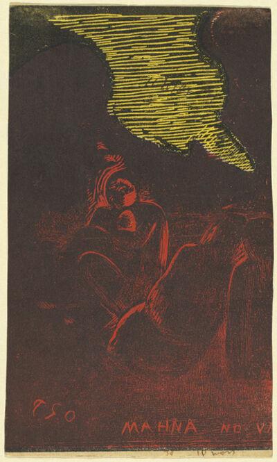 Paul Gauguin, 'Mahna no Varua Ino (The Demon Speaks) [verso]', 1894/1895