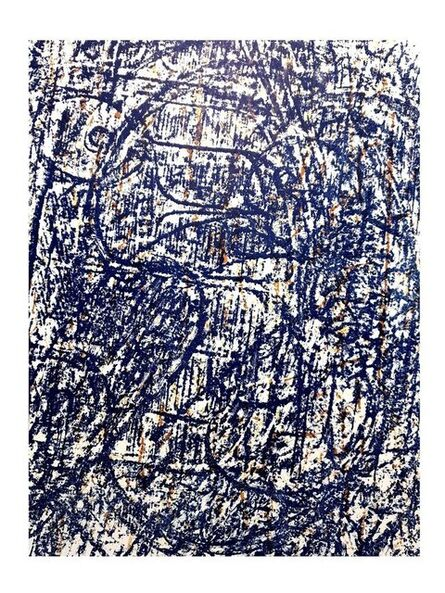 """Max Ernst, 'Original Lithograph """"Abstract Birds"""" by Max Ernst', 1962"""