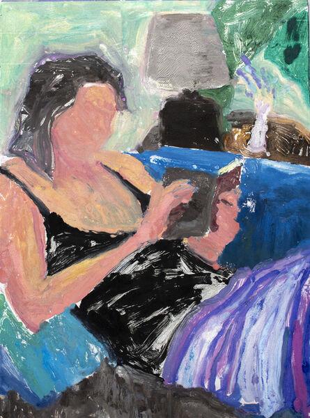 Brian Lotti, 'Lavender, Lamp and Cushion', 2020