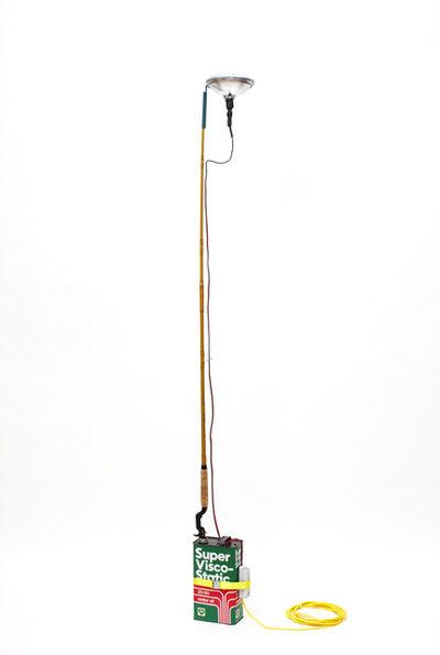 Simon Starling, 'Home-made Castiglioni Lamp (Super Visco-Static)', 2020