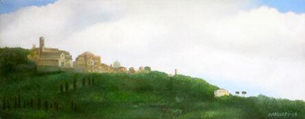 Joseph Barbieri, 'Cortona from the North', 2014