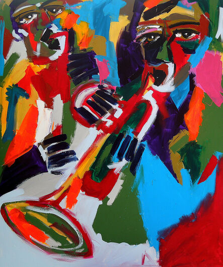 Harold Smith, 'Trumpet and Sax', 2019
