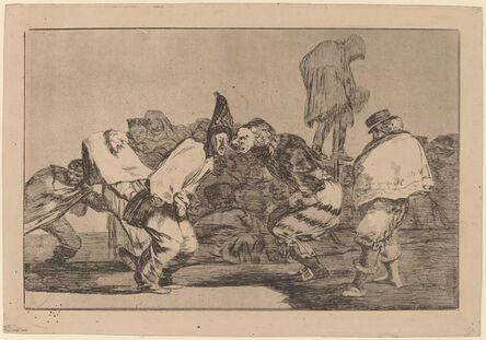 Francisco de Goya, 'Disparate de Carnabal (Carnival Folly)', in or after 1816