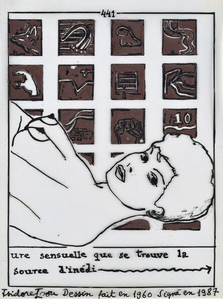 Isidore Isou, '441', 1960