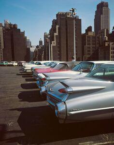 Evelyn Hofer, 'Car Park, New York', 1965