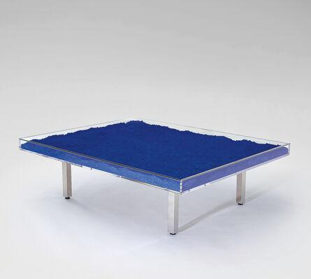 Yves Klein, 'Table Bleue', 1961
