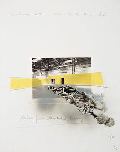 David Ireland, 'Untitled (Scheme #2 M.O.C.A. L.A.)', 1988