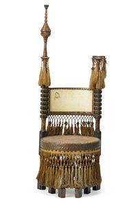 Carlo Bugatti, 'Chair, Italy', 1900s