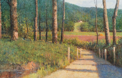 Donald Jurney, 'A Country Walk', 2016