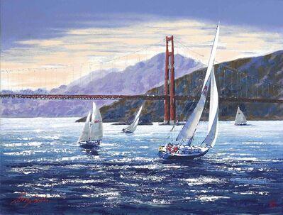 Kerry Hallam, 'Golden Gate Sunset ', 2001