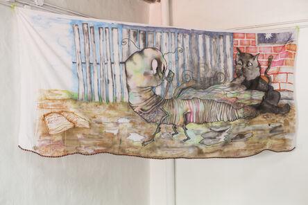 Constanza Giuliani, 'Gusano y gato', 2018