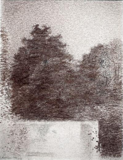 Gunnar Norrman, 'Tradgardsmur (Garden Wall), 1980', 1995