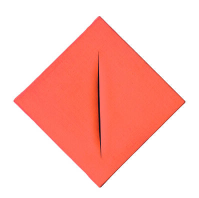 Lucio Fontana, 'Concetto spaziale, Attesa', 1963-1964