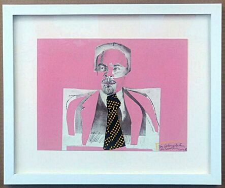 Larry Rivers, 'Homage to Vladimir Ilyich Lenin, signed and inscribed to Arthur Gold and Robert (Bobby) Fizdale', 1973