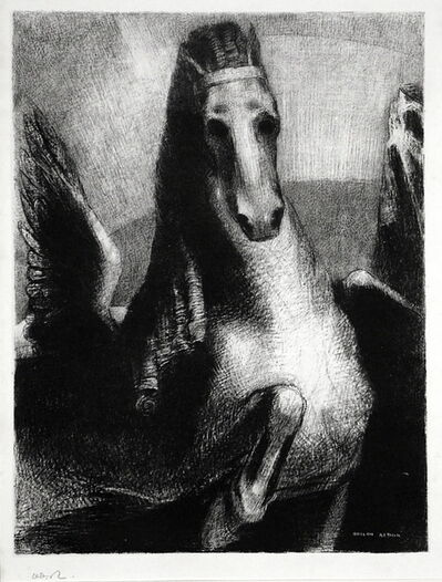 Odilon Redon, 'L'Aile', 1893