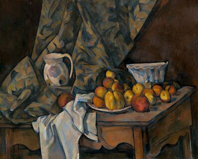 Paul Cézanne, 'Still Life with Apples and Peaches', ca. 1905