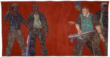 Leon Golub, 'Mercenaries IV', 1980