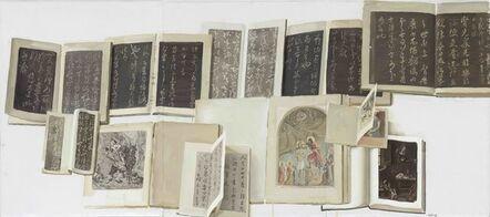 Chen Danqing, 'Chunhua Pavilion and van Gough No.2 (Triptych)', 2015