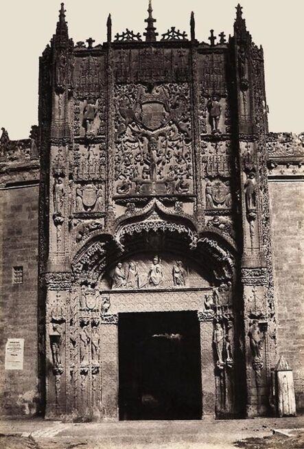 Charles Clifford, 'Colegio de San Gregorio in Valladolid, Spain', 1854c/1850s