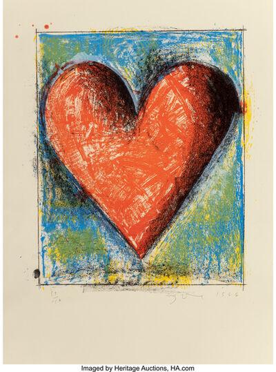 Jim Dine, 'Carnegie Hall Heart', 1986