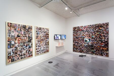 Kim Insook, 'letter to Nim(you) & Visual Face', 2004 & 2017