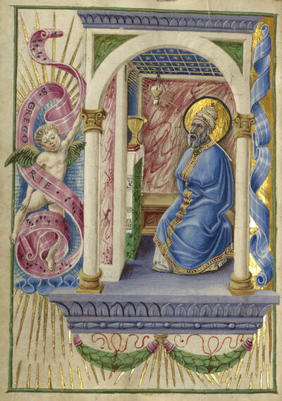 Taddeo Crivelli, 'Saint Gregory', 1469