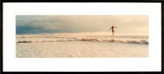 Nick Waplington, 'Figure on a Beach'
