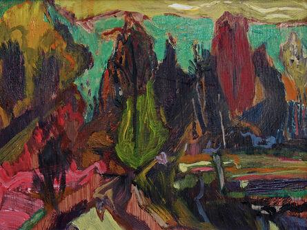 David Alexander, 'Emerald Stage Behind', 2017