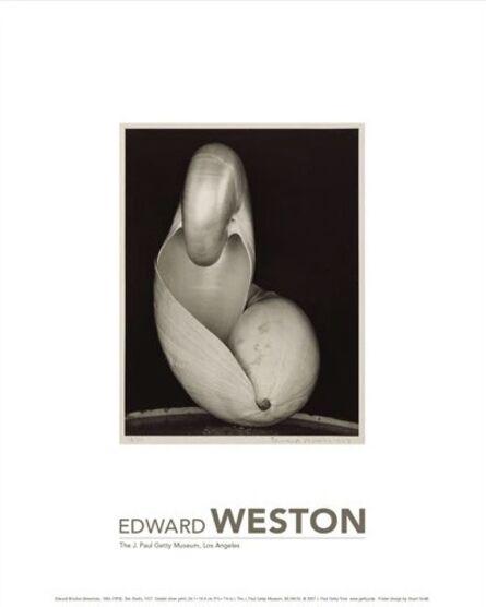Edward Weston, 'Edward Weston Exhibition Poster for the J. Paul Getty Musuem', 2020