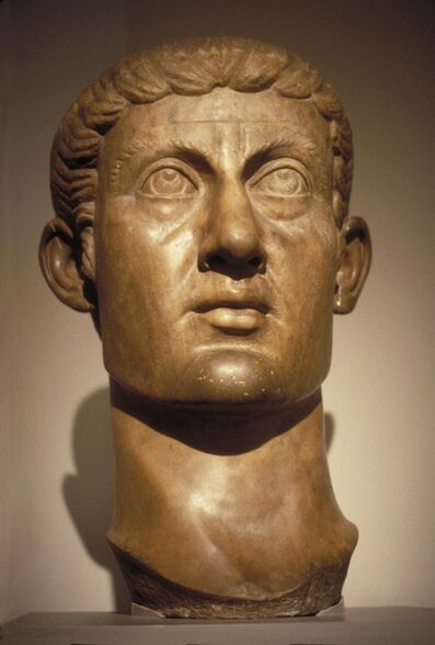 'Marble Portrait Head of Constantine the Great', ca. 325-370 CE