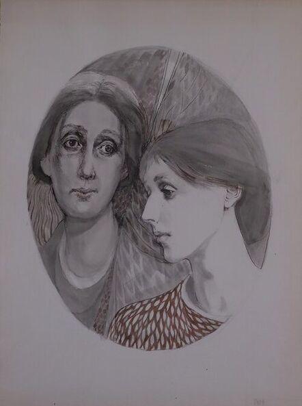 Barbara Swan, 'Virginia Woolf, Double Portrait', 1970s