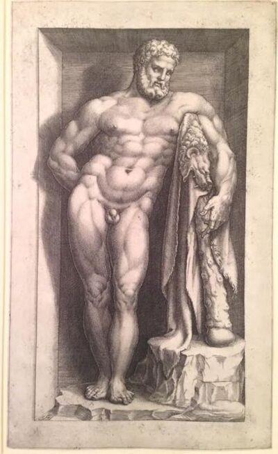 Giorgio Ghisi, 'The Farnese Hercules', ca. 1570