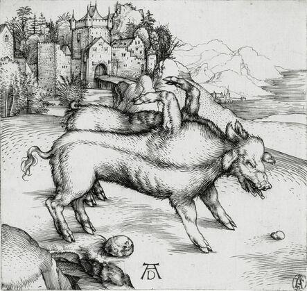 Albrecht Dürer, 'The Monstrous Sow of Landser (Bartsch 95; Meder, Hollstein 82; Schoch Mende Scherbaum 8)', c. 1496