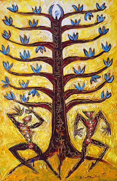 Ekatherina S, 'Tree of Life Yellow'