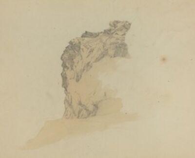 Johann Christian Heerdt, 'Study of Cliffs', 1835