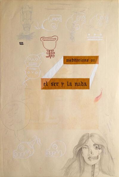 Enrique Chagoya, 'Ghostly Meditations (meditations on el ser y la nada)', 2012