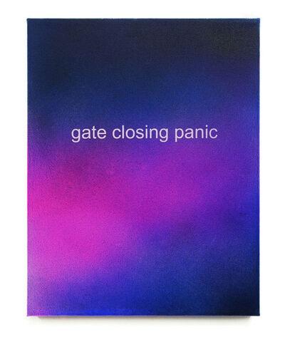 Allison L. Wade, 'Gate Closing Panic', 2015