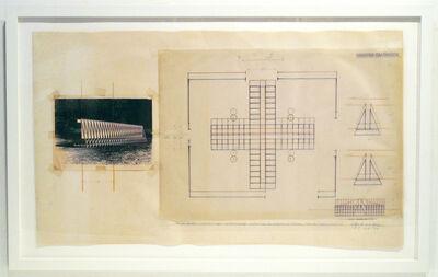 Cris Gianakos, 'Project Drawing Proposal, U MASS, Amherst, 5.18.1989', 1989