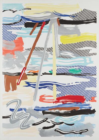 Roy Lichtenstein, 'Sunshine Through the Clouds, from Landscape Series', 1985