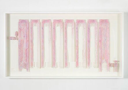 Do Ho Suh, 'Rubbing/Loving Project: Radiator, Corridor, 348 West 22nd Street, New York, NY 10011, USA', 2014