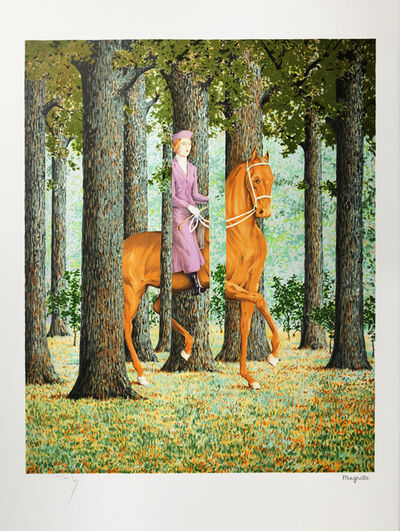 René Magritte, 'Le Blanc-Seing (The Blank Signature)', 2004