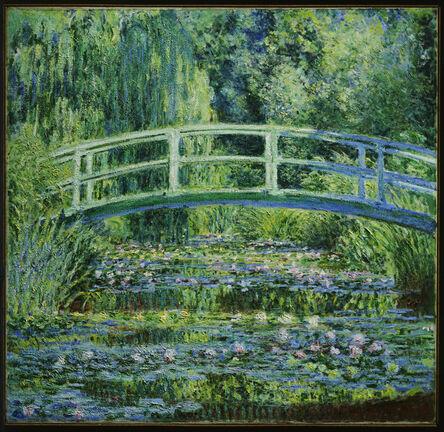 Claude Monet, 'Water Lilies and Japanese Bridge', 1899
