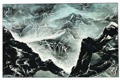 Liu Kuo-sung 刘国松, 'Tibetan Suite Series No. 182 – Shadow of the Mountain', 2012