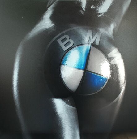 F2B Frederic de Bonnechose, 'Buttocks BMW', 2014
