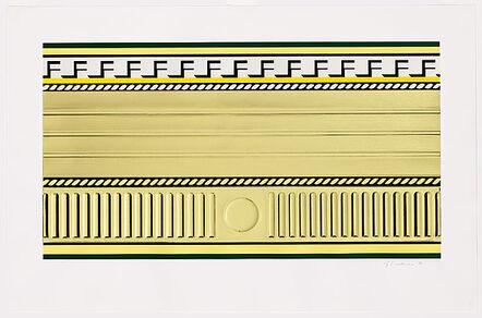 Roy Lichtenstein, 'Entablature III', 1976