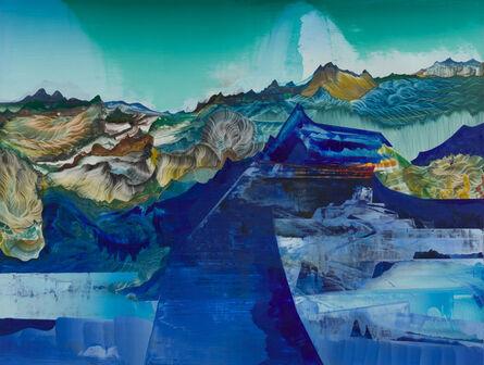 Elliott Green, 'Blue Tonnage', 2018