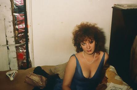 Nan Goldin, 'Nan Goldin self portrait in blue dress NYC ', 1985/2020