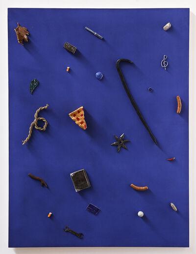 Scott Reeder, 'Untitled (crowbar, credit card, pie)', 2016