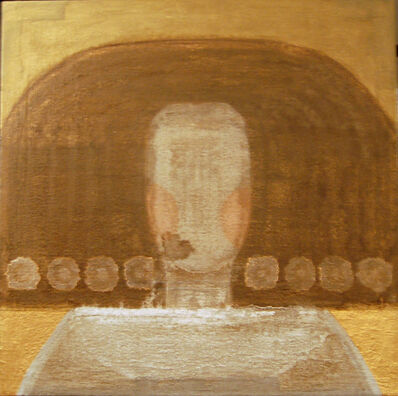 Anna Miquel, 'Retrato dorado', 2012
